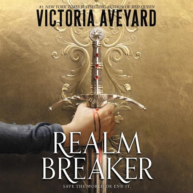 Realm Breaker by Victoria Aveyard book cover