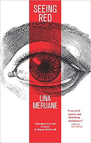 cover image of Seeing Red by Lina Meruane