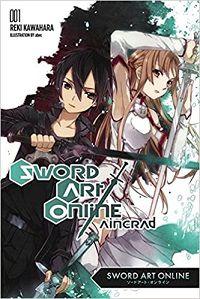 Sword Art Online 1 cover - Reki Kawahara