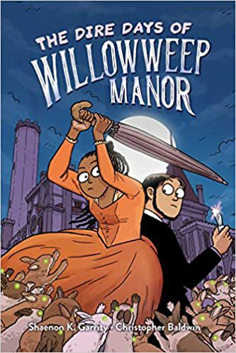 The Dire Days of Willowweep Manor cover