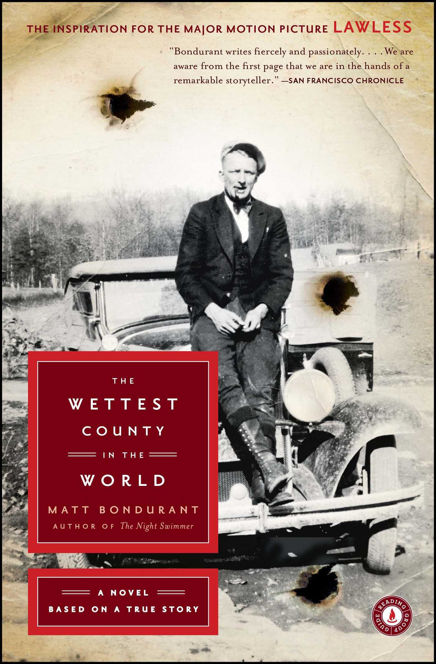 The Wettest County In the World cover