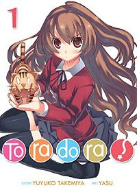 Toradora 1 cover - Yuyuko Takemiya
