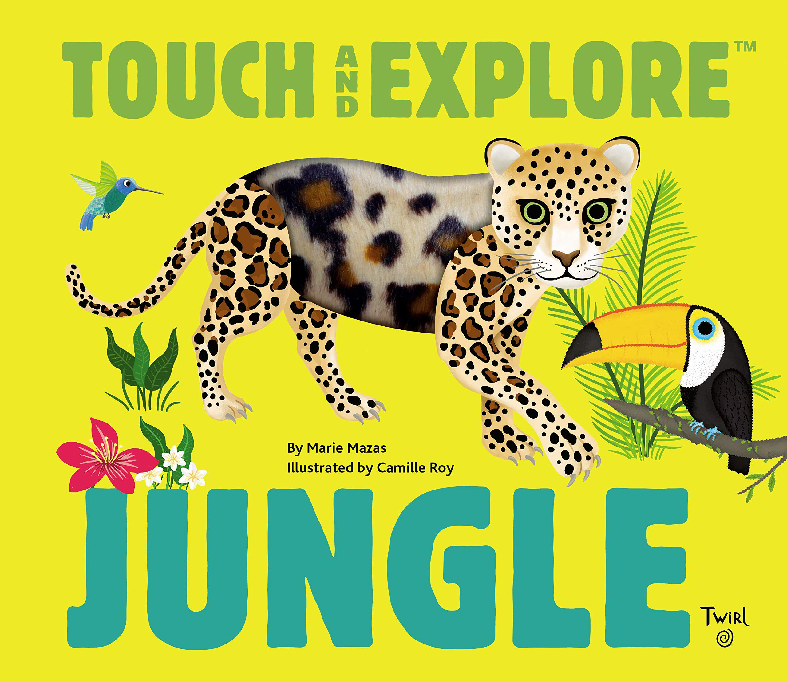 Touch and Feel Jungle Animals