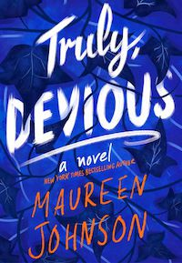 Truly Devious by Maureen Johnson book cover