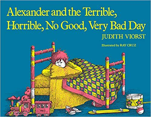 cover of alexander and the terrible horrible no good very bad day by judith viorst