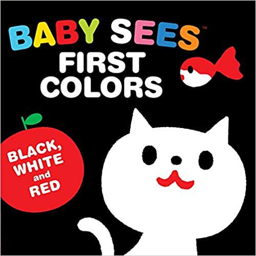 Baby Sees First Colors book cover