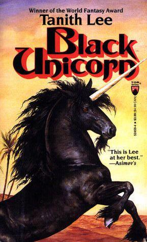 Book cover for Black Unicorn