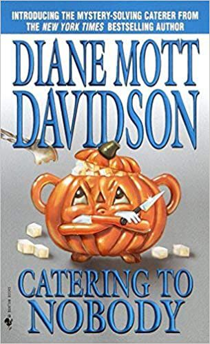 cover of catering to nobody by diane mott davidson