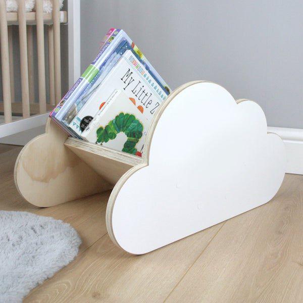 image of cloud-shaped book rack