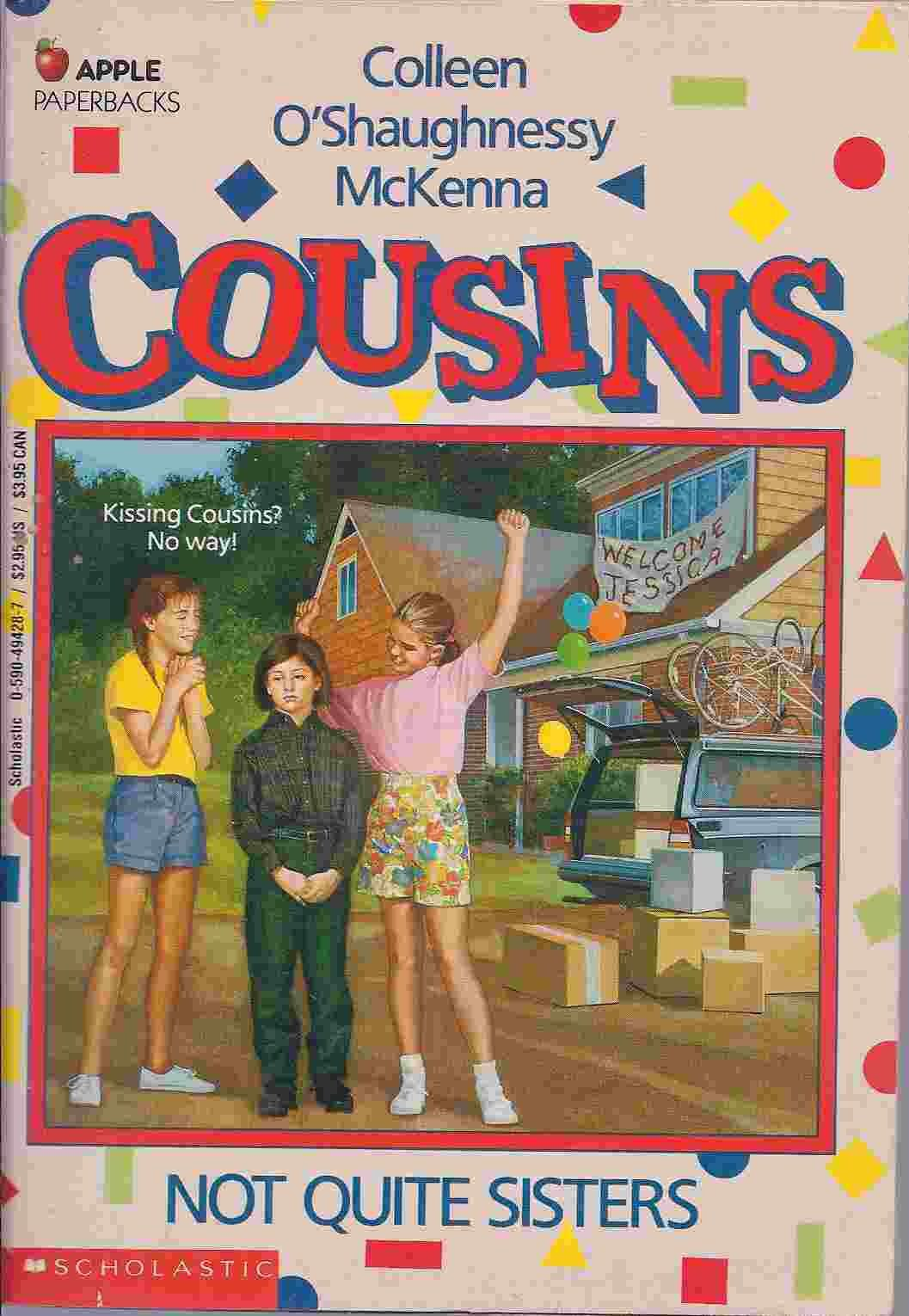 Image of the book cover for Cousins: Not Quite Sisters