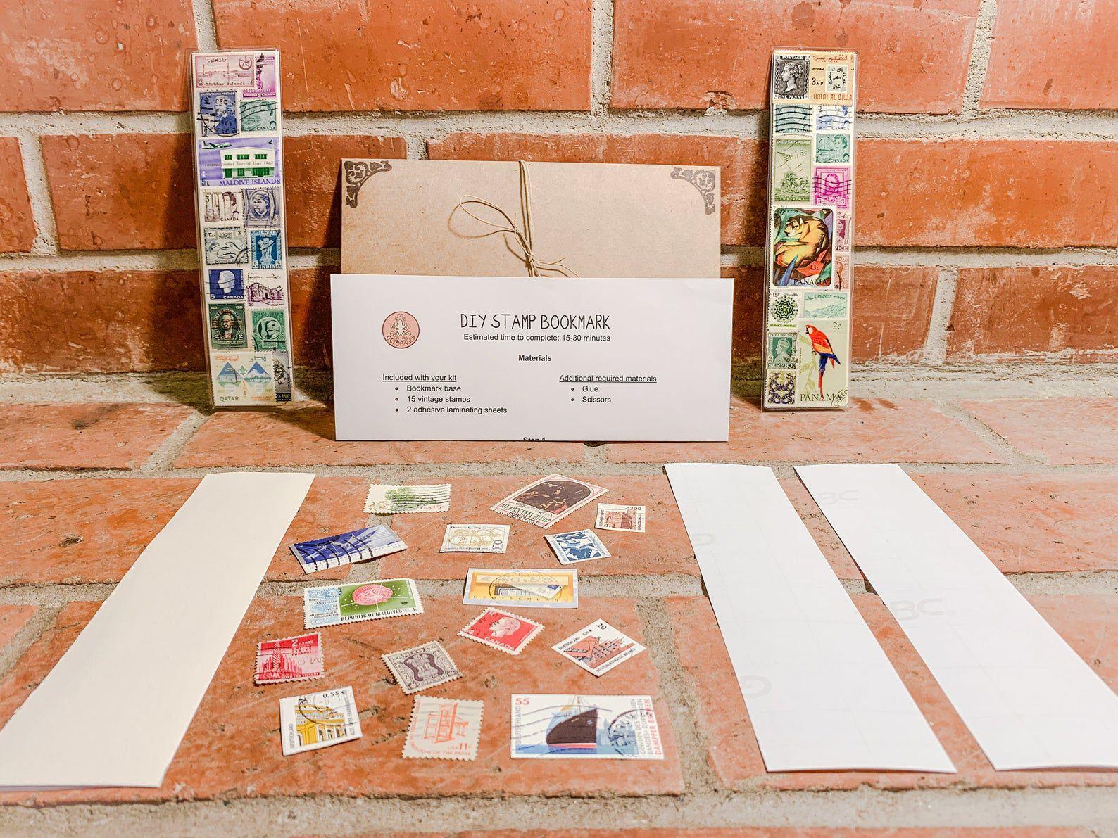 Etsy Stamp Bookmark Kit