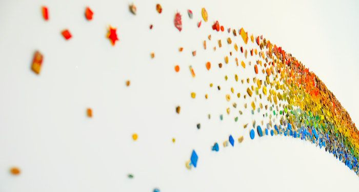 fragmented rainbow