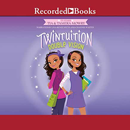 audiobook cover image of Twintuition Double Vision by Tia and Tamera Mowry