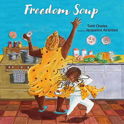 audiobook cover image of Freedom Soup by Tami Charles