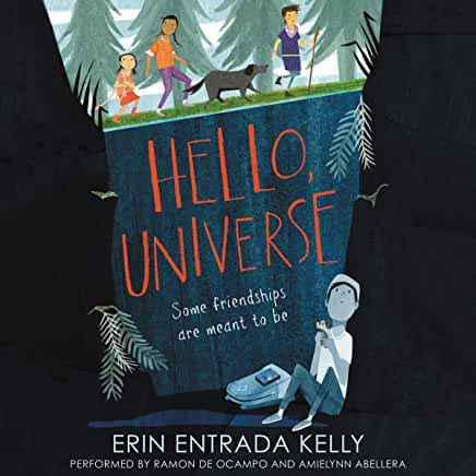 audiobook cover image of Hello, Universe by Erin Entrada Kelly