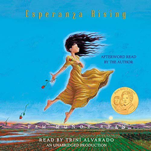 audiobook cover image of Esperanza Rising by Pam Muñoz Ryan