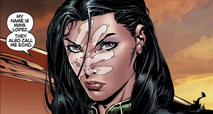 "Image of Maya Lopez AKA Ronin AKA Echo from ""New Avengers #13"""