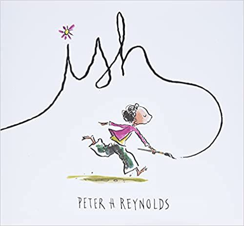 cover of ish by peter reynolds