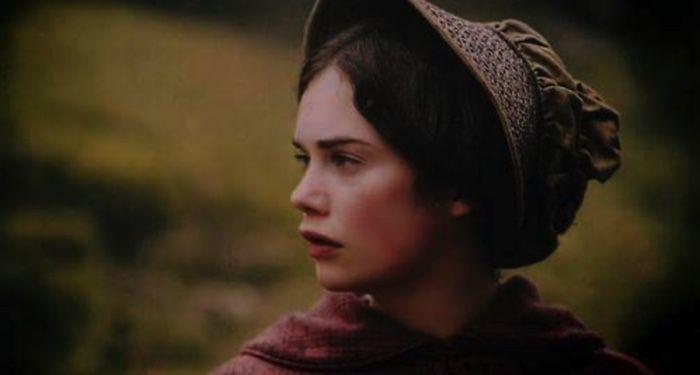 Ruth Wilson as Jane Eyre in screen grab from Jane Eyre TV adaptation https://www.imdb.com/title/tt0780362/mediaviewer/rm1730952960/