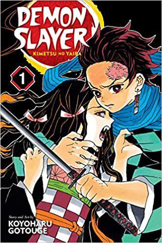 kimetsu no yaiba manga book cover