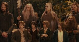 still frame from Lord of the Rings: The Fellowship of the Ring