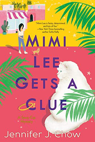 cover of mimi lee gets a clue by jennifer j. chow