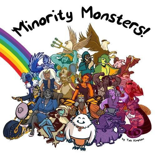 Cover of Minority Monsters