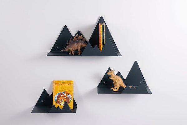 Image of mountain bookshelves