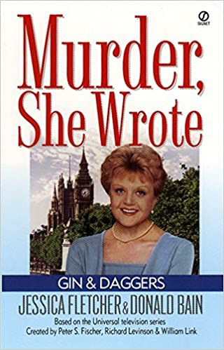 cover of murder she wrote tie-in novel gin and daggers