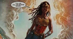 image of Nubia, the second Wonder Woman
