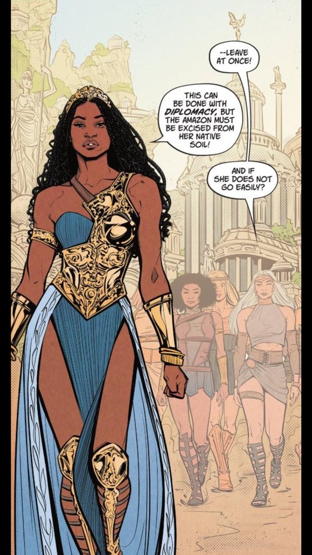 DC Comics Wondergirl 1