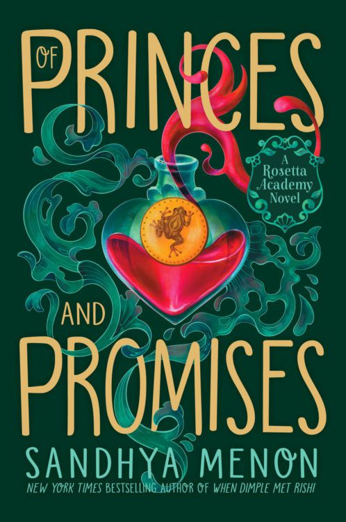 cover image of Of Princes and Promises by Sandhya Menon