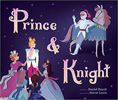 book cover of prince & knight by daniel haack