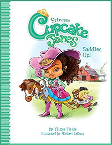 Princess Cupcake Jones Saddles Up cover
