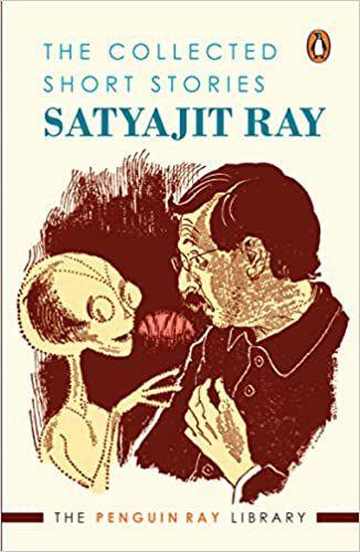 غلاف كتاب يظهر رسم ساتياجيت راي الفضائي