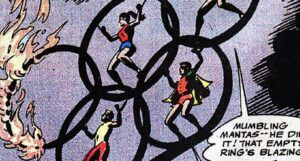 closeup of a panel from Teen Titans Volume 1 #4