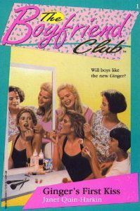 Image of the book cover for THE BOYFRIEND CLUB: Ginger's First Kiss