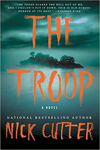 cover of the troop by nick cutter