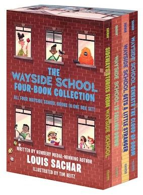 image of the Wayside School collection boxed set by Louis Sachar