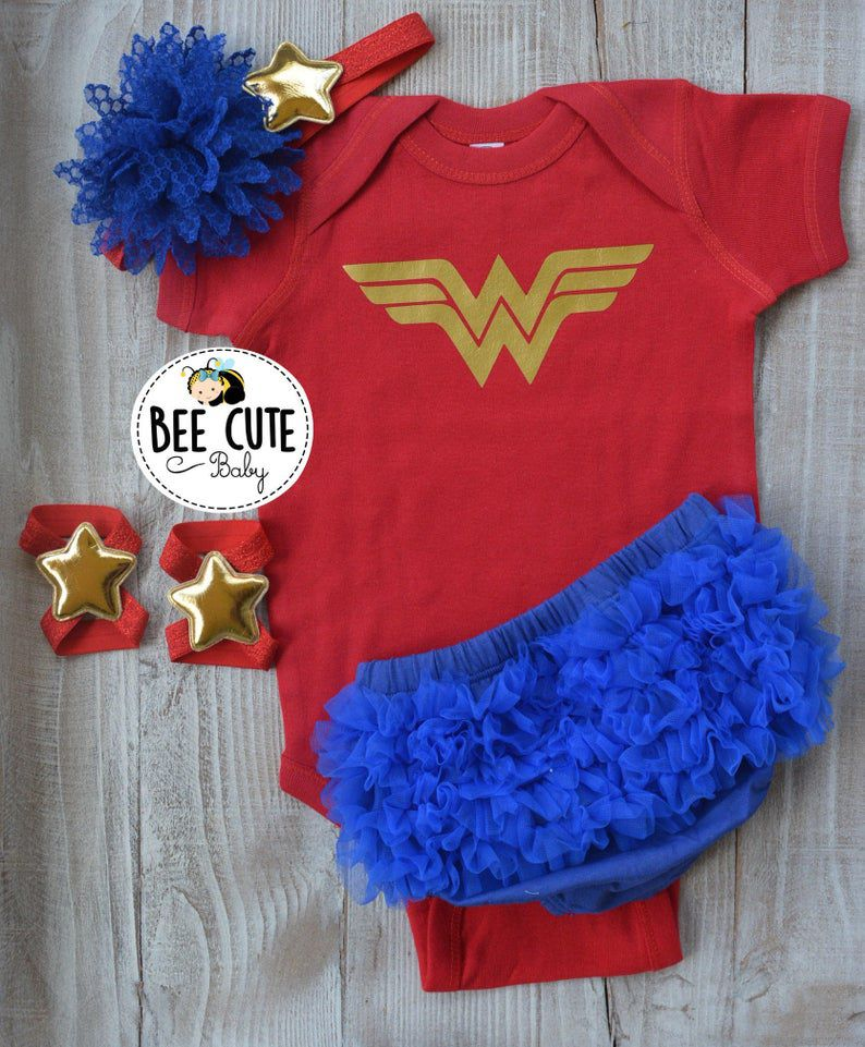 Image of a Wonder Woman costume.