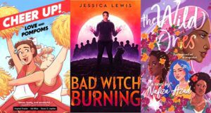 collage of three book covers of August 2021 YA new releases