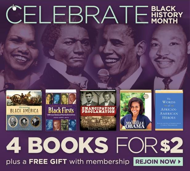 Black Expressions Book Club Flier