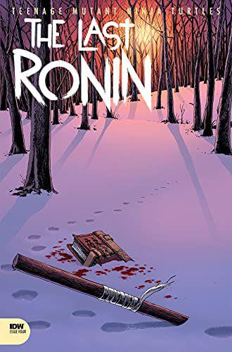 TMNT Ronin Cover