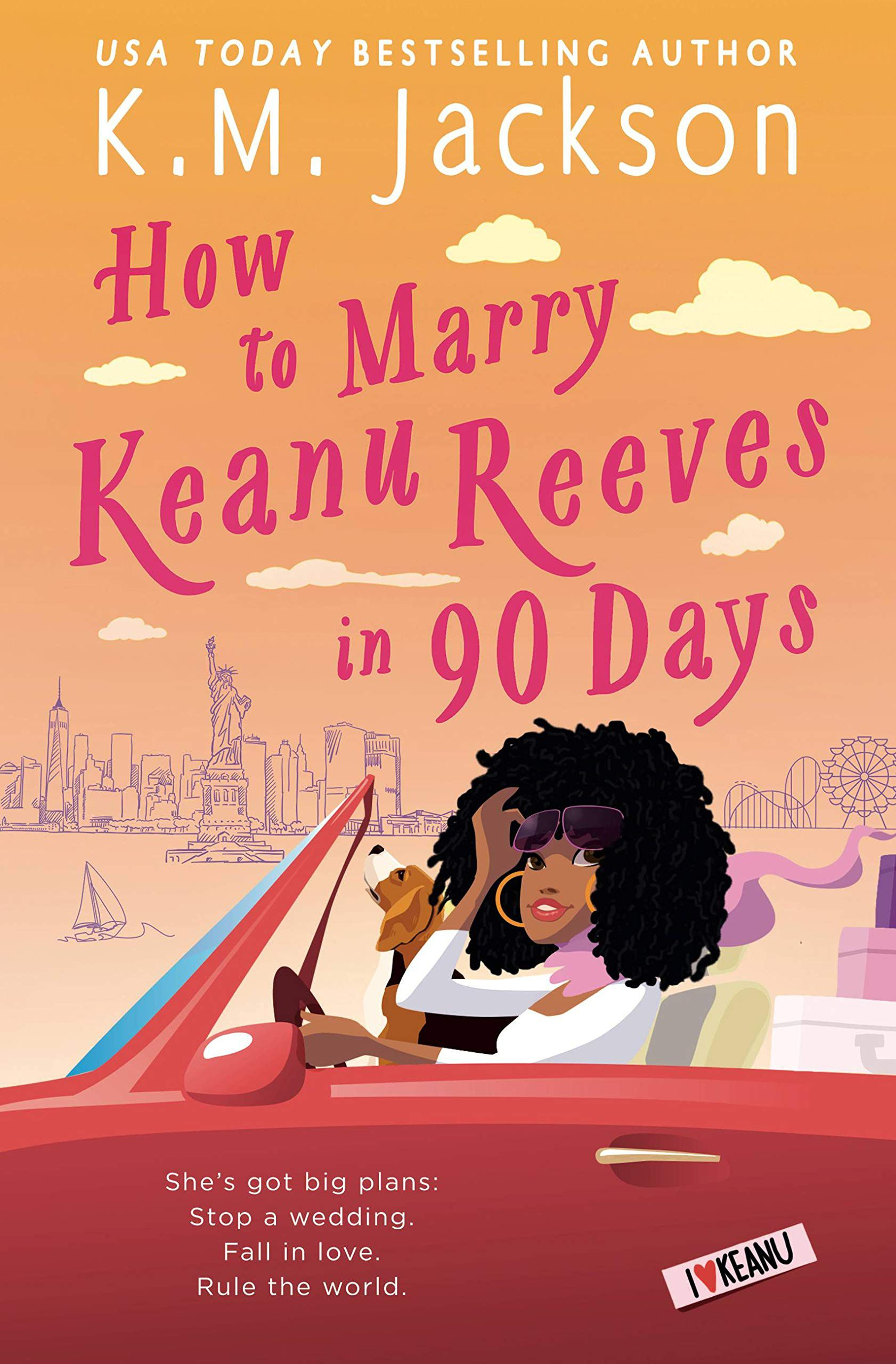 how marry keanu reeves in 90 days cover