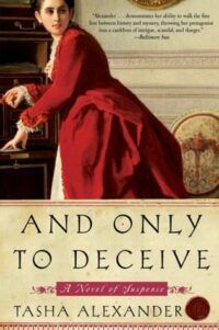 Cover of And Only to Deceive by Tasha Alexander