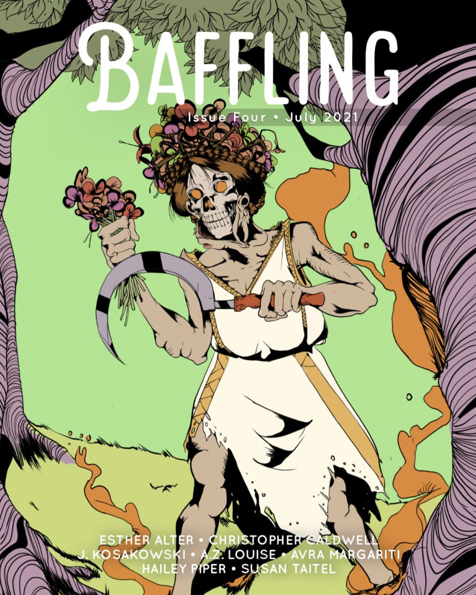 Image of Baffling Magazine's Issue 4 cover