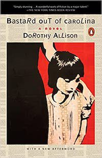 A graphic of the cover of Bastard Out of Carolina by Dorothy Allison