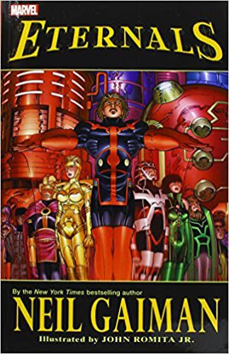 OCver of Eternals Graphic Novel by Neil Gaiman