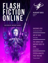 Image of FFO literary journal August 2021 cover