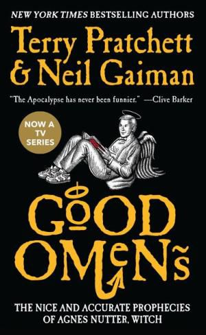 Good Omens- The Nice and Accurate Prophecies of Agnes Nutter, Witch by Neil Gaiman and Terry Pratchett Book Cover